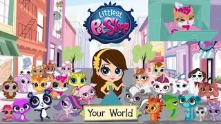 Littlest pet shop your World LPS твой мир. Улыбчивый кот  0+