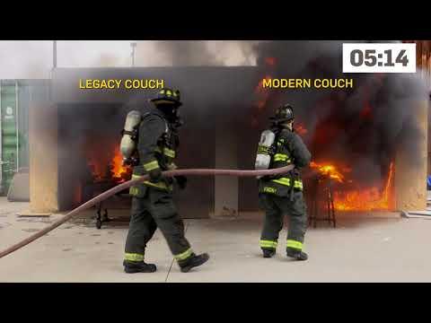 Furniture Fire Demonstration
