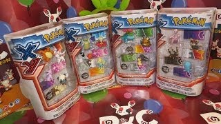 ToyCollection | Pokémon XY 4-Figure Gift Packs! | #PKCV