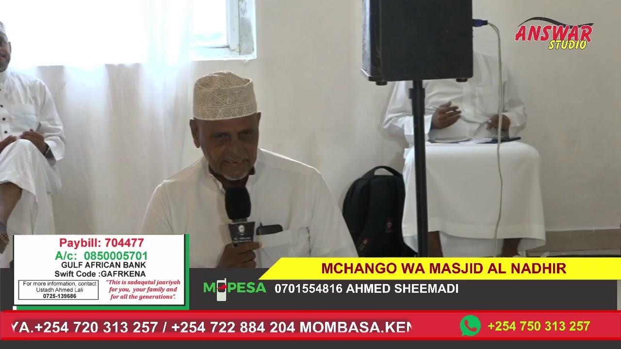 Download HESABU YA MCHANGO WA MASJID AL NADHIR ULIOKO MJI WA NDAU- LAMU COUNTY
