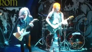 Enforcer - Below the Slumber / Drum solo / Run for your life (live) Foro indierocks Mexico City