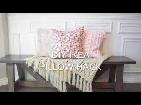 DIY IKEA Pillow Hack