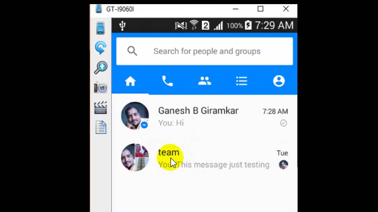 How To Leave A Group In Facebook Messenger Android App Youtube Android Apps Facebook Messenger App