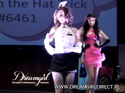 Dreamgirl Costume 6461 Rabbit in the Hat Trick, Quick change double layer  stretch knit dress - YouTube