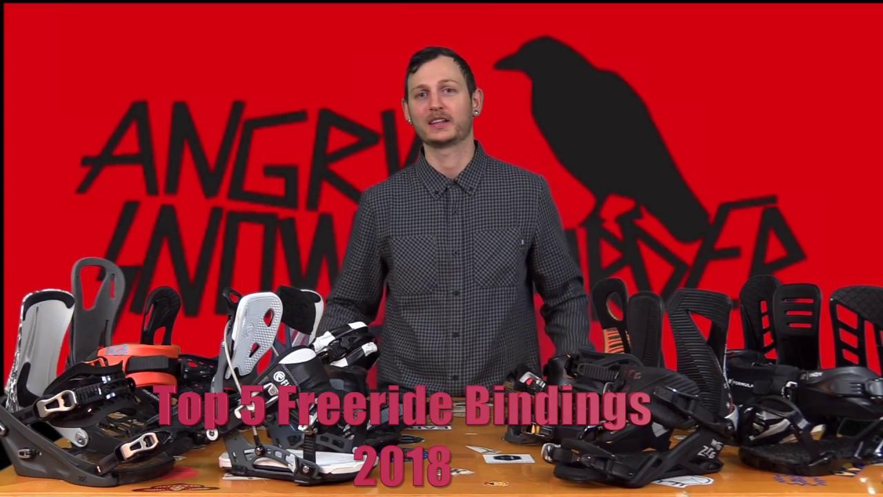 354115525f51 The 2018 Top 5 Freeride Snowboard Bindings Picks. Angry Snowboarder