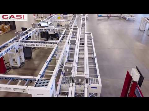 💊 High-Speed Central Fill Pharmacy Order Fulfillment 💊 Cornerstone Automation Systems (CASI)