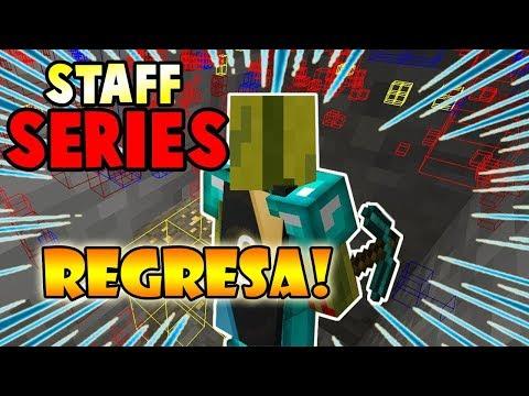 👉 LE ENCUENTRO HACKS EN SS (XRAY) Y ME BANEAN!! - Minecraft STAFF SERIES