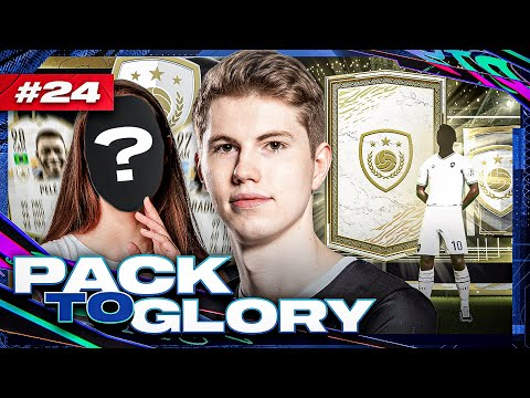 UFF! FREUNDIN ZIEHT MEIN PRIME ICON PACK 😂😍 I FIFA 21 PACK TO GLORY #24