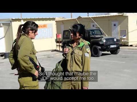 why Female Arab Soldier in Israel's Army
