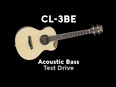 Traveler Guitar CL-3BE Acoustic Bass Demo (Direct Audio)