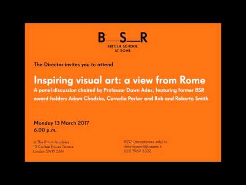 Inspiring visual art: a view from Rome