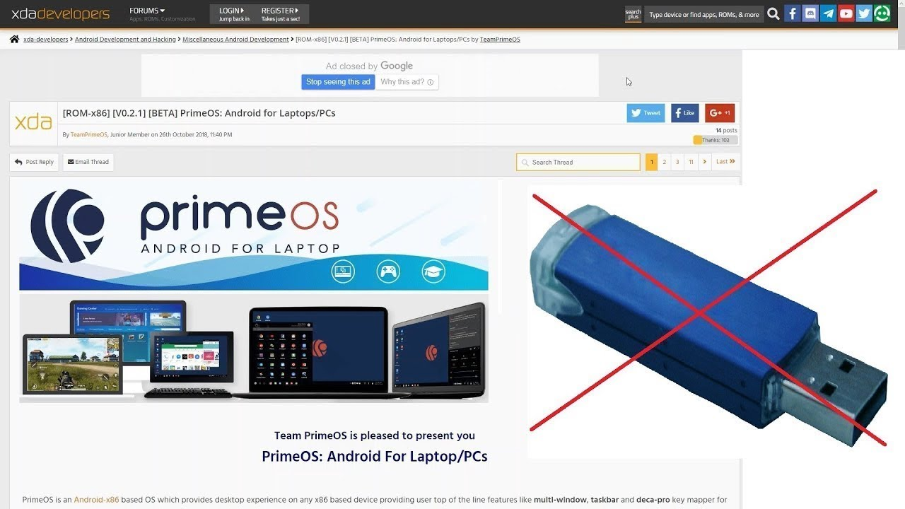 How To Run Prime Os Without Using Usb Drive Part 2 Storage Problem Fixed