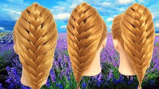 Quick & Easy Braided Hairstyles 🌺🌾 How to make Braids Hair Style 🌿 Hairstyles for girls