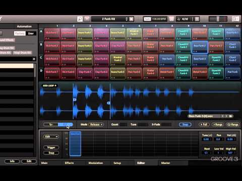 Battry 4 Wave Editor And Loop Editor