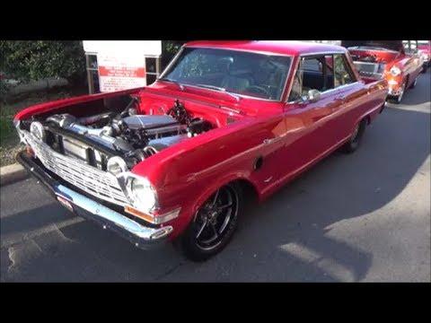 1965 Chevy II Nova Twin Turbo V8 Dreamgoatinc Classic Muscle and Drag Car Videos
