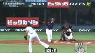 後藤光尊 2010年 ホームラン&ファインプレー集
