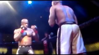 Fred Weaver vs Robert Thompson Strike hard MMA Fight - Birmingham, Alabama December 8, 2012