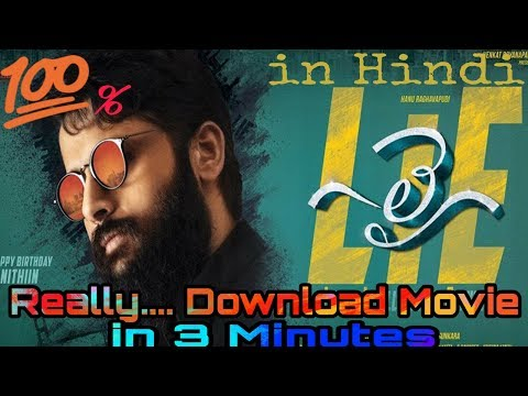 New released south Indian movie  'LIE' full movie.....