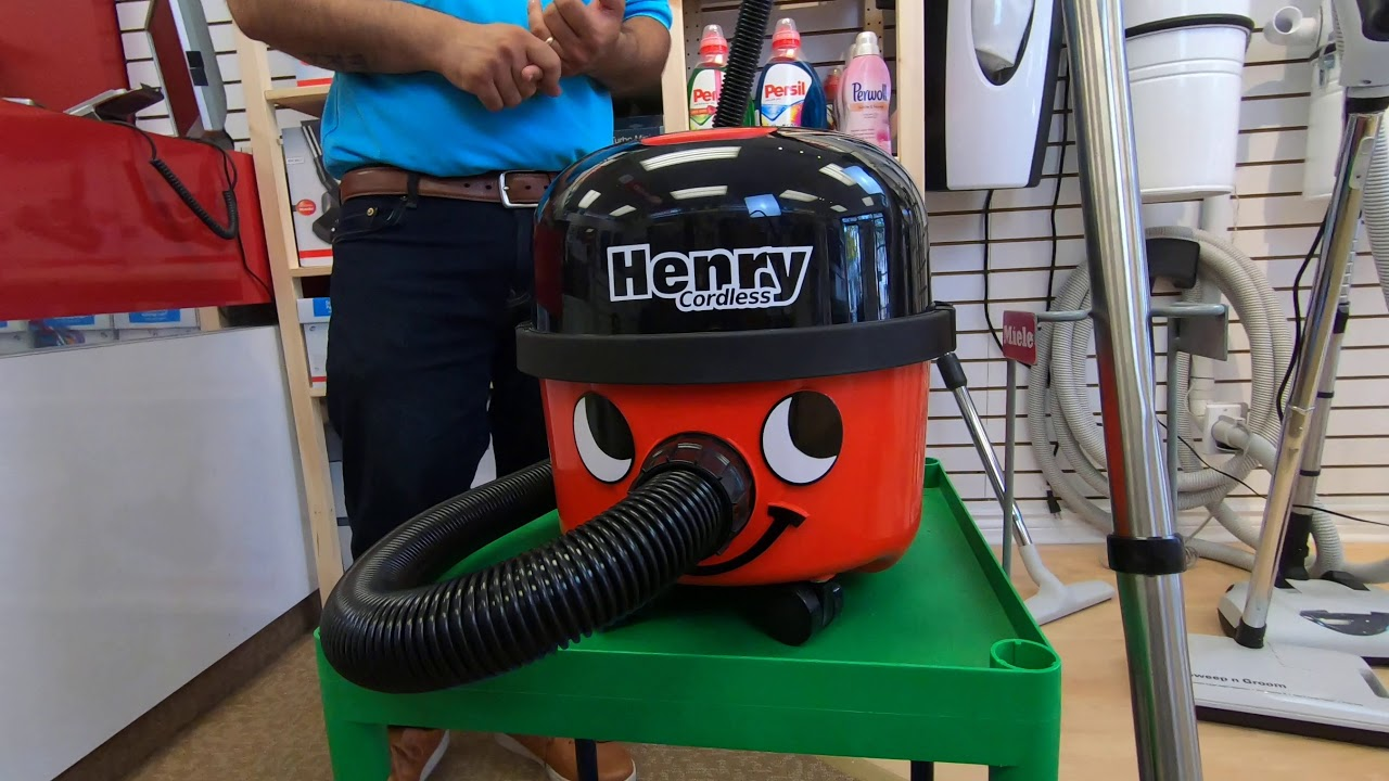 Henry Cordless Canister Vacuum Cleaner