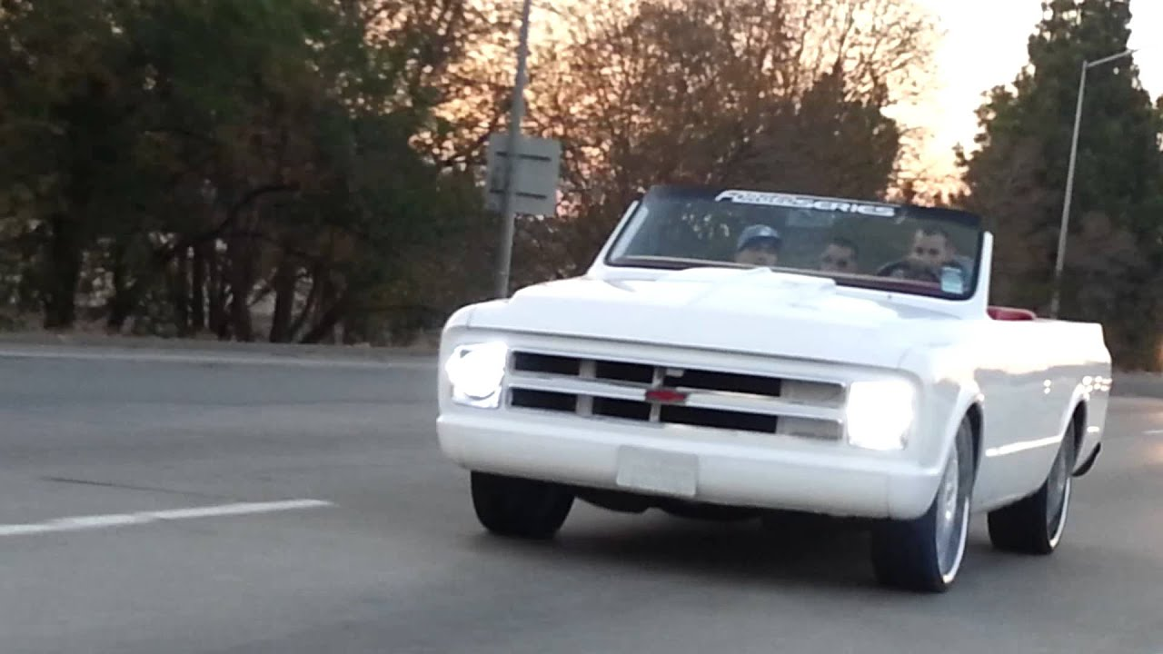 Custom K5 Blazer with a LS7 and on 24inch Don's! - YouTube