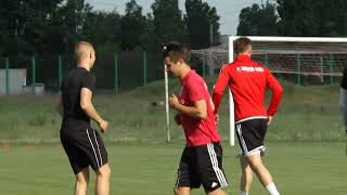 Тренировка Горняка-Спорт. 10.05.2018