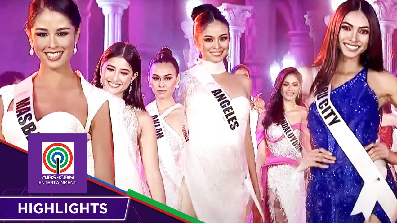 Top 16 Evening Gown Competition   Miss Universe Philippines 2021
