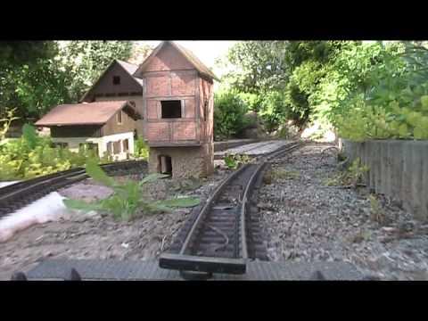 """Model Railroad Toy Train Track Plans -Mind-Blowing LGB Gartenbahn """"Die ganze Strecke""""  Lüneburger Heide Garden Railway Trains G-Scale"""