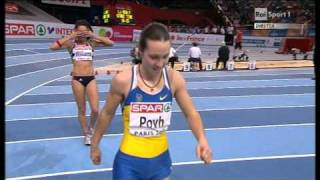 60m women semifinal 2 European Athletics Championships 2011, Paris