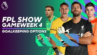 BEST Premier League goalkeeper for GW4? Alisson, Pope, Martinez or McCarthy? | FPL Show