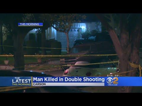 2 Men Shot, 1 Killed In Carson