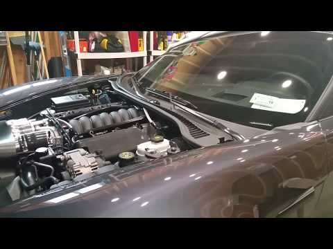 How to bleed your radiator / coolant system on C6 LS Corvette. Boosted C6 Build. Part #52