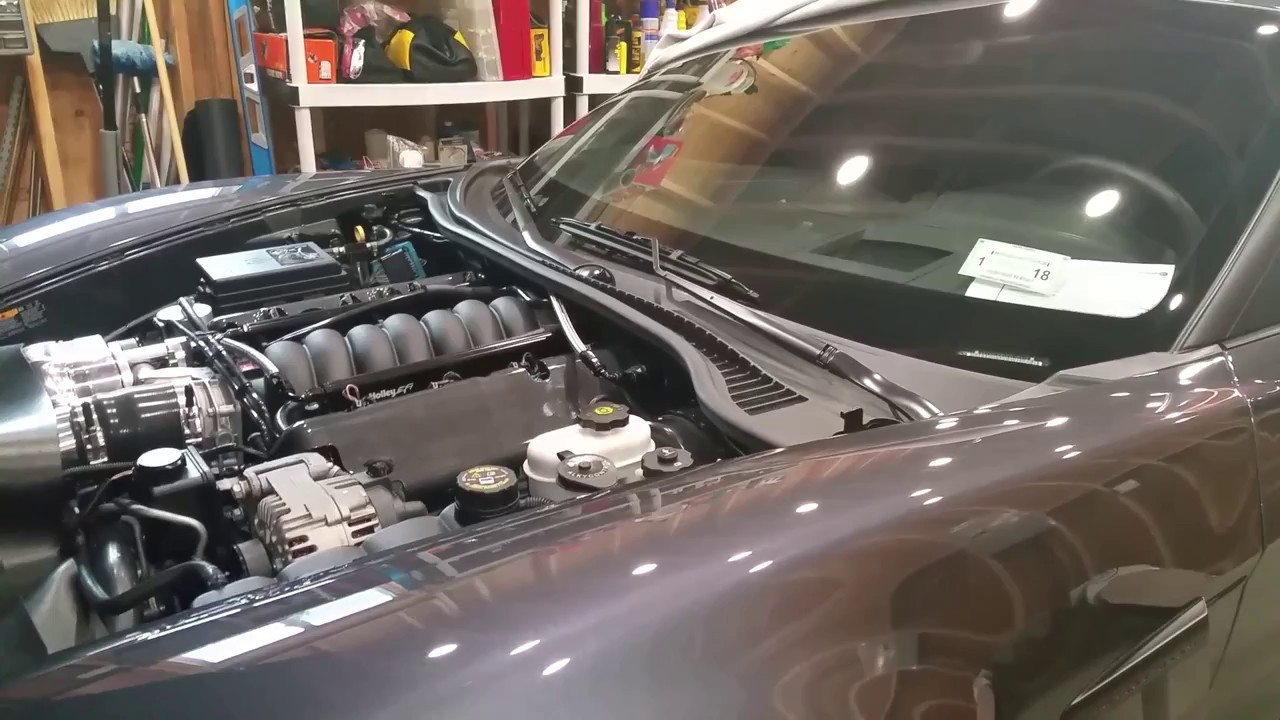 how to bleed your radiator coolant system on c6 ls corvette boosted c6 build part 52 [ 1280 x 720 Pixel ]