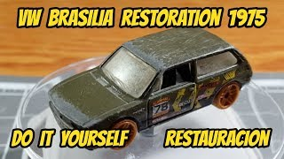 How to restore an abandoned hot wheels do it yourself | Custom Mexico