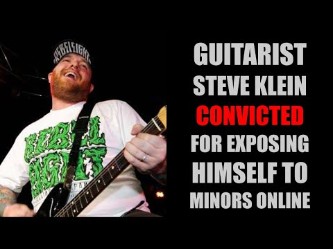 Guitarist Steve Klein Convicted For Indecent Exposure
