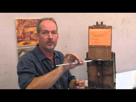 "Thomas Van Stein on ""How to Hold a Paint Brush"""