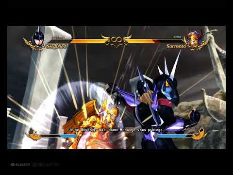 Premier combat Siegfried contre Sorrento