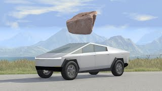 Thorough Testing of the Tesla Cybertruck -  beamng drive