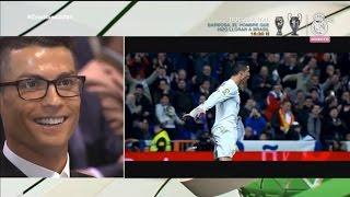Reakcja Cristiano Ronaldo na film o jego umiejętnościach | Musisz to zobaczyć!