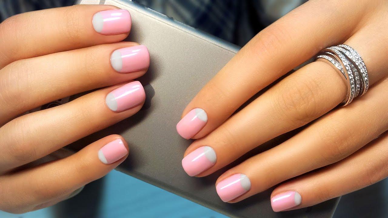 Видео уроки по дизайну ногтей гель лаком