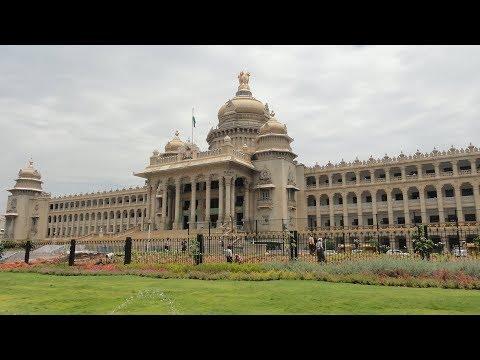 Magnificent buildings of Bengaluru - Vidhana Soudha, Vikasa Soudha and High Court of Karnataka