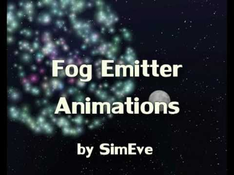 Sims 3 Fog Emitter Effects Animations: Intro and Tutorial