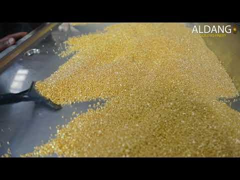Gold Refinery in Rwanda, Africa - Aldango