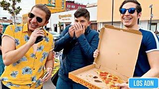 SI ADIVINAS TE GANAS UNA PIZZA/PREGUNTAS BRG%S | Los ADN YouTube Videos