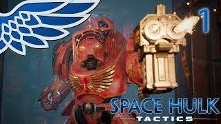 SPACE HULK TACTICS | Storm Bolter Part 1 - Warhammer 40k Space Hulk Let's Play Gameplay