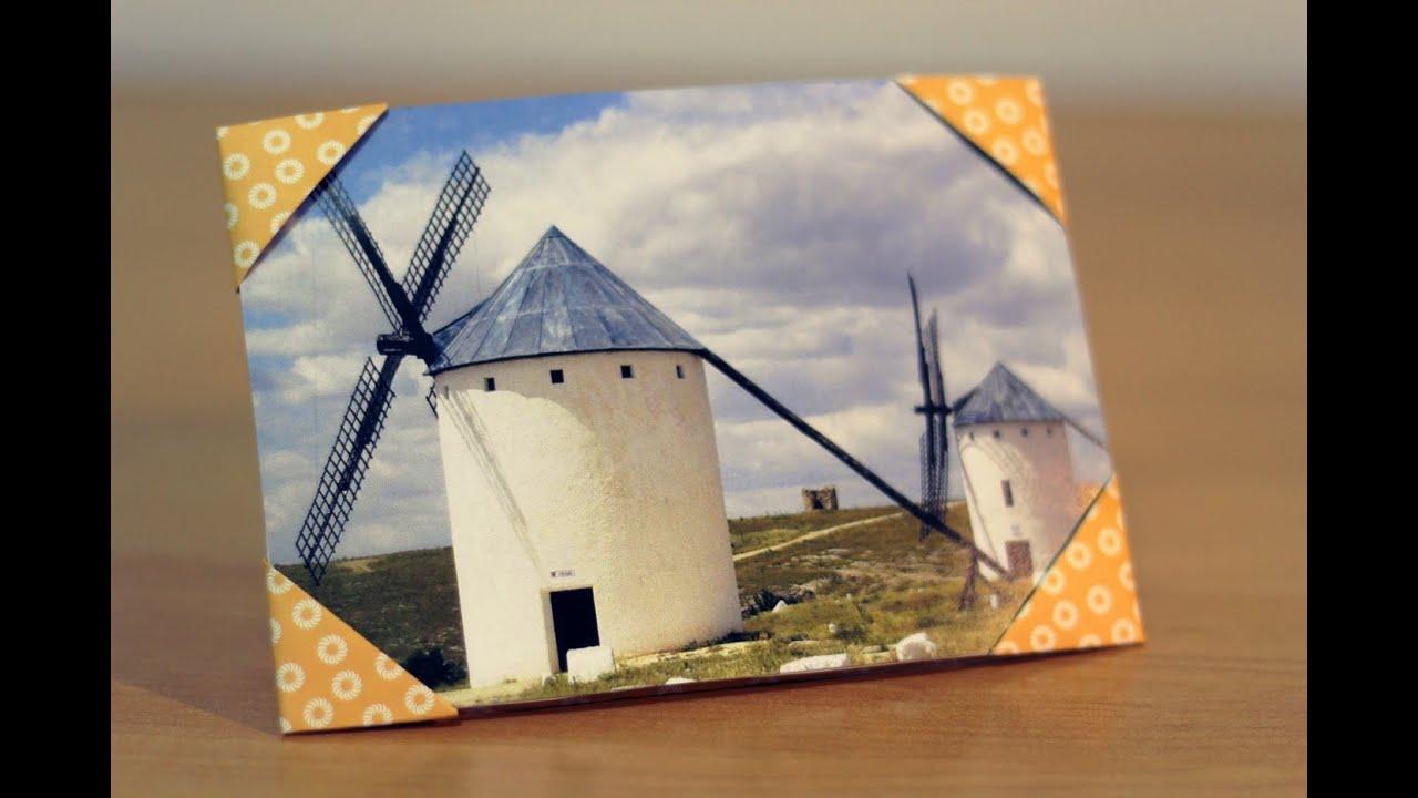 Papercraft 折纸:如何做纸相框