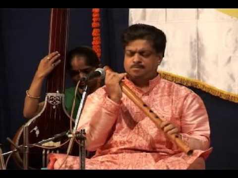 Ptra Kulkarni Flute - Srujan Sabha Concert 2010 - Raag Parmeshwari - Part 1