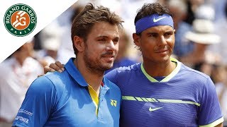 Match of the day #14 - Rafael Nadal v Stan Wawrinka Men's Final | Roland-Garros 2017