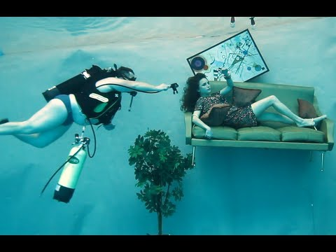 Shooting UNDERWATER  SOUS LEAU  The Flood Harry Fayt