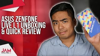 ASUS Zenfone Live L1 Unboxing and Quick Review: The affordable Zenfone