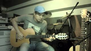dendang perantau p ramlee lagu raya fingerstyle instrumental cover akustik acoustic